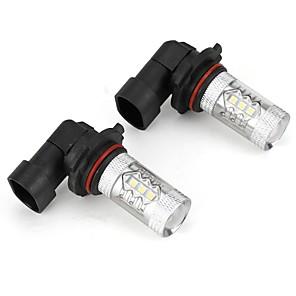 cheap Car Fog Lights-High Bright Lightness 335 Car LED Foglight Bulb 9006 HB4 White Color Lightness