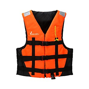cheap Wetsuits, Diving Suits & Rash Guard Shirts-Life Jacket Swimming Nylon EPE Foam Diving Surfing Snorkeling Top for Adults
