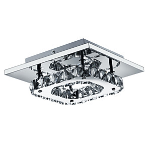 "cheap Ceiling Lights-1-Light UMEI™ 21(8"") LED Flush Mount Lights Metal Electroplated Modern Contemporary 90-240V"