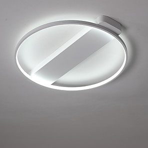 cheap Dimmable Ceiling Lights-1-Light 40 cm LED Flush Mount Lights Metal Painted Finishes LED / Modern Contemporary 110-120V / 220-240V