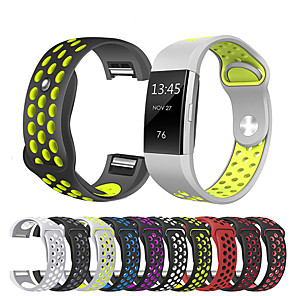 cheap Smartwatch Bands-Watch Band for Fitbit Charge 2 Fitbit Sport Band Silicone Wrist Strap