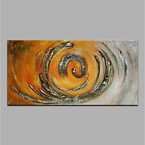 cheap Framed Arts-Oil Painting Hand Painted - Abstract Modern Rolled Canvas