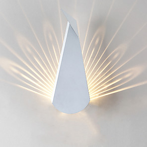 cheap Indoor Wall Lights-Matte LED / Modern / Contemporary Wall Lamps & Sconces Living Room / Bedroom / Study Room / Office Metal Wall Light 110-120V / 220-240V 5 W / LED Integrated