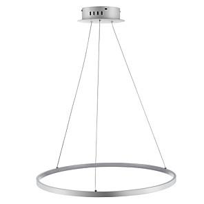 povoljno Dizajn kruga-Ecolight™ 1-Light 60(24'') LED Privjesak Svjetla Metal Acrylic Cirkularno Chrome Suvremena suvremena 110-120V / 220-240V