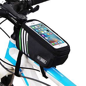 cheap Bike Frame Bags-Cell Phone Bag Top Tube Bag 5.7 inch Touch Screen Cycling for iPhone 8/7/6S/6 iPhone X Samsung Galaxy S8+ / Note 8 Blue Black Red Cycling / Bike / iPhone XR / iPhone XS / iPhone XS Max