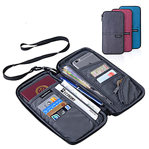 cheap Travel Security-Passport Holder & ID Holder Polyester Portable / Luggage Accessory / Multi-function Solid Colored