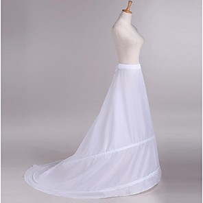 cheap Wedding Slips-Wedding / Party Slips Taffeta Floor-length Classic Style / Solid Color with Sash / Ribbon / Bandage / Gore