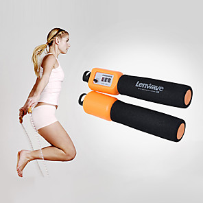 cheap Fitness Gear & Accessories-Jump Rope / Skipping Rope Nylon Portable Speed Electronic Anti Slip Multifunction Durable Crossfit Weight Loss Training Boxing Exercise & Fitness Gymnatics For Men Women Sports Outdoor