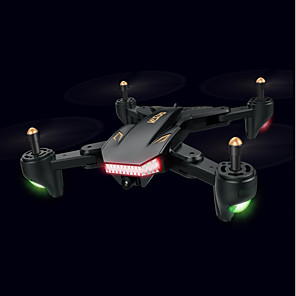 cheap RC Drone Quadcopters & Multi-Rotors-RC Drone XS809S 4 Channel 6 Axis 2.4G With HD Camera 2.0MP 720P RC Quadcopter One Key To Auto-Return / Headless Mode / With Camera RC Quadcopter / Remote Controller / Transmmitter / Blades