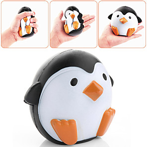 cheap Stress Relievers-Squishy Squishies Squishy Toy Squeeze Toy / Sensory Toy Jumbo Squishies Stress Reliever Fairytale Theme Penguin Fantacy Animal Stress and Anxiety Relief 3D Cartoon Lovely Super Soft Slow Rising For