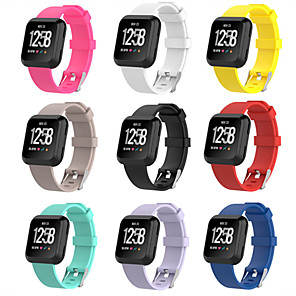 cheap Smartwatch Bands-Watch Band for Fitbit Versa Fitbit Sport Band Silicone Wrist Strap