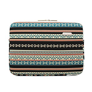 "cheap Sleeves,Cases & Covers-11.6"" 13.3"" 14"" 15.6"" Laptop Sleeves Canvas Bohemian Laptop Bag for Macbook/Surface/HP/Dell/Samsung/Sony Etc"