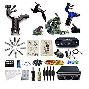 cheap Pendant Lights-BaseKey Professional Tattoo Kit Tattoo Machine - 4 pcs Tattoo Machines, Professional Aluminum Alloy 20 W 2 rotary machine liner & shader / 2 alloy machine liner & shader / Case Included