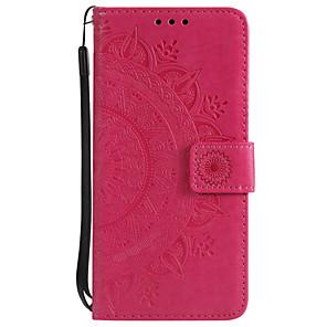 cheap Other Phone Case-Case For Motorola MOTO G6 / Moto G6 Plus / Moto G5 Plus Wallet / Card Holder / Flip Full Body Cases Flower Hard PU Leather