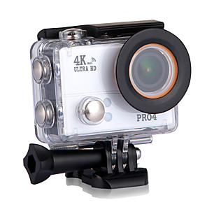 cheap Sports Action Cameras-PRO4 Sports Action Camera vlogging WiFi / Adjustable / Wide Angle 32 GB 30fps 20 mp No 4608 x 3456 Pixel Ski / Snowboard / Universal / Radio Control No CMOS H.264 Single Shot / Burst Mode / Time-lapse