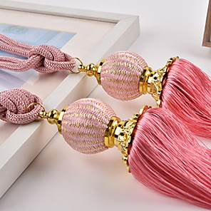 cheap Curtain Accessories-curtain Accessories Rope / Tassel / Tie Back Modern 2 pcs