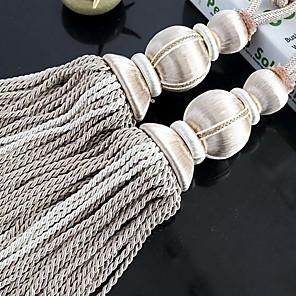 cheap Curtain Accessories-curtain Accessories Tassel / Tie Back Modern 2pcs