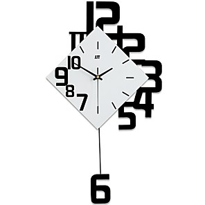 cheap Abstract Paintings-Modern / Contemporary Wood Novelty Indoor / Outdoor,AA Batteries Powered AA Wall Clock