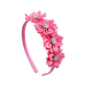 cheap Hair Accessories-Hair Accessories Grosgrain Wigs Accessories Girls' 1pcs pcs 1-4inch cm Party / Daily Stylish Cute / Pink