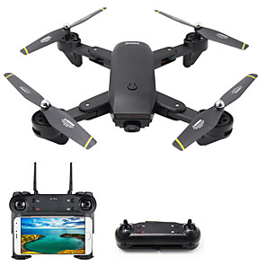 cheap RC Drone Quadcopters & Multi-Rotors-RC Drone DMRC DM107S 4CH 6 Axis 2.4G With HD Camera 2.0MP 1080P*720P RC Quadcopter LED Lights / One Key To Auto-Return / Auto-Takeoff RC Quadcopter / Remote Controller / Transmmitter / USB Cable