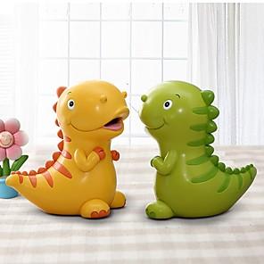 cheap Animal Action Figures-Piggy Bank / Money Bank Money & Banking Toy Dinosaur Cartoon Cute Creative Plastic For Teenager Children's Boys' Girls'