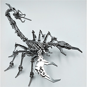 cheap 3D Puzzles-3D Puzzle Scorpion Animal Creative Cool Stainless Steel Adults Teenager Toy Gift