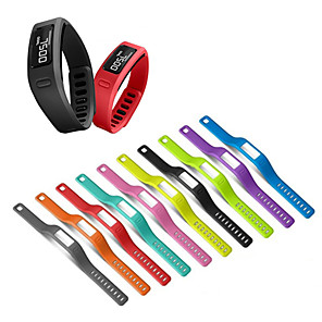 cheap Smartwatch Bands-Silicone Wrist Strap Replacement watch band for Garmin Vivofit 1/Vivofit 2 Bracelet belt