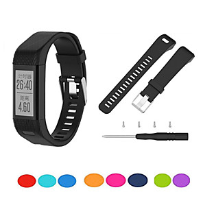 cheap Smartwatch Bands-Watch Band for Vivosmart HR+(Plus) Garmin Sport Band Silicone Wrist Strap