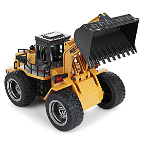 cheap RC Cars-RC Car 1520 6CH 2.4G Bulldozer 1:18 Brush Electric 60 km/h