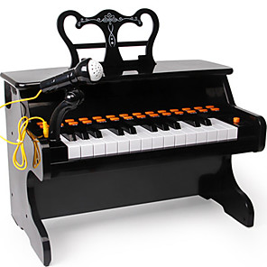 cheap Music Boxes-Intex Electronic Keyboard Music Sound Material Unisex Boys' Girls' Baby 1 pcs Graduation Gifts Toy Gift