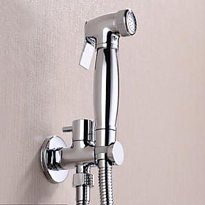 cheap Vessel Sinks-Fancy Bathroom Sink Faucet - Pre Rinse Chrome Wall Mounted One Hole / Single Handle One HoleBath Taps Washlet