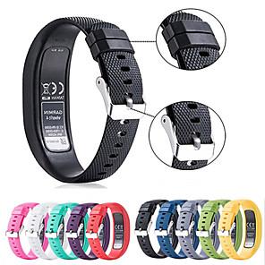 cheap Smartwatch Bands-Watch Band for Vivofit 4 Garmin Sport Band Silicone Wrist Strap