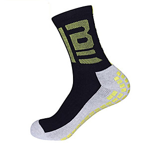 cheap Soccer Shoes-Football Socks Soccer Socks Cotton Men's Solid Colored Socks Grip Socks Long Socks Anti-Slip Wearable Non Slip Sports & Outdoor 1 Pair