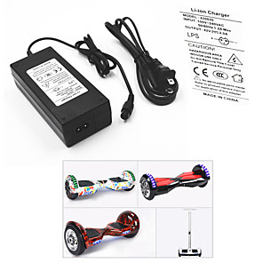 cheap Scooters-Power Adapter / Cable for Smart Balancing Scooter / Electric Battery Charger 42 V V 2 A A Input 100-240 V V AC For Hoverboard / Caster Board 13.8*6.0*3.6 cm Plastic