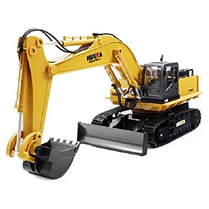 cheap RC Cars-RC Car 1510 4CH 2.4G Excavator 1:16 Brush Electric 60 km/h