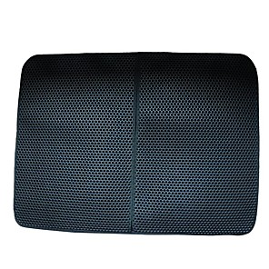 cheap Cat Beds & Carriers-Dog Cat Pets Bed Silica Gel Pet Mats & Pads Solid Colored Camping & Hiking washable Travel Black