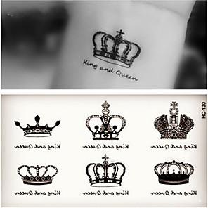 cheap Tattoo Stickers-10 pcs Tattoo Stickers Temporary Tattoos Romantic Series Body Arts Arm