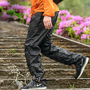 cheap Men's Hiking Pants & Shorts-Men's Waterproof Hiking Pants Solid Color Summer Outdoor Waterproof Ultra Light (UL) Quick Dry Breathable Nylon Pants / Trousers Bottoms Black Camping / Hiking Fishing Climbing M L XL XXL - Naturehike