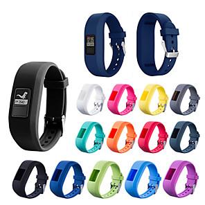 cheap Smartwatch Bands-Watch Band for Garmin vívofit jr Garmin Sport Band Silicone Wrist Strap