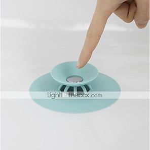 cheap Cell Phone Charms-Shower Drain Stopper Floor Drain Rubber Circle Silicone Plug for Shower Bathtub Plug Bathroom