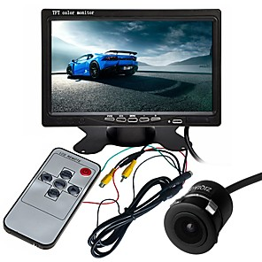 cheap Car Rear View Camera-ZIQIAO 7 Inch TFT-LCD CCD Multi-functional display / 170 Degree Waterproof Car Rear View Kit