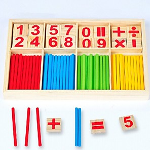cheap Educational Toys-Montessori Teaching Tool Toy Abacus Educational Toy Parent-Child Interaction Wooden 1 pcs Kid's Toy Gift / Develop Creativity