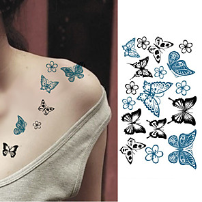 cheap Tattoo Stickers-10 pcs Tattoo Stickers Temporary Tattoos Animal Series Body Arts Arm