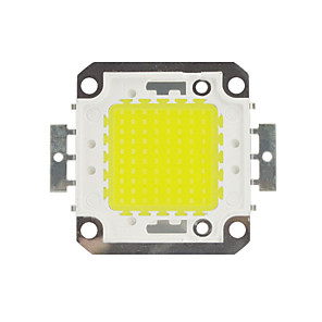 cheap LED String Lights-ZDM DIY 100W 8500-9500LM Warm White Cold White  Naturally White  Light Integrated LED Module (DC33-35V 3A) Street Lamp for Projecting Light  Gold Wire Welding of Copper Bracket