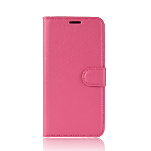 cheap Other Phone Case-Case For Motorola Moto Z2 play / Moto X4 / MOTO G6 Wallet / Card Holder / Flip Full Body Cases Solid Colored Hard PU Leather / Moto G5 Plus