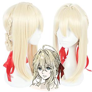 cheap Synthetic Trendy Wigs-Violet Evergarden Violet Evergarden Cosplay Wigs All 18 inch Heat Resistant Fiber Anime Wig