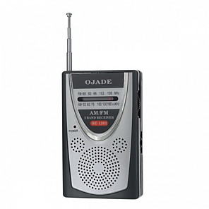 cheap Radio-Ojade Oe-1201 Mini Portable Am / Fm 2-Band Radio Fm88108Nh Am525-1600Khz
