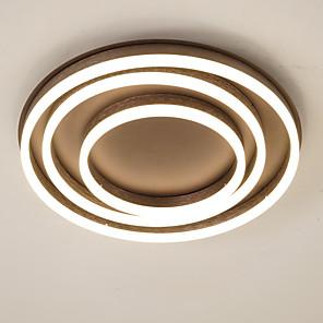 cheap Ceiling Lights-1-Light 50 cm Creative Dimmable Flush Mount Lights Aluminum Acrylic Circle Anodized Chic & Modern Modern 110-120V 220-240V FCC