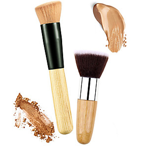 cheap Foundation Brushes-Professional Makeup Brushes Blush Brush 2 Eco-friendly Professional Soft Comfy Synthetic Hair Wooden / Metal for Blush Brush Foundation Brush Concealer Brush Powder Brush