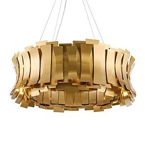 cheap Indoor Wall Lights-QIHengZhaoMing 10-Light 60 cm Chandelier Metal Electroplated Modern 110-120V / 220-240V